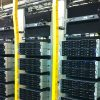 Cool Shield Data Center Server Rack with Foam Blanking Panel
