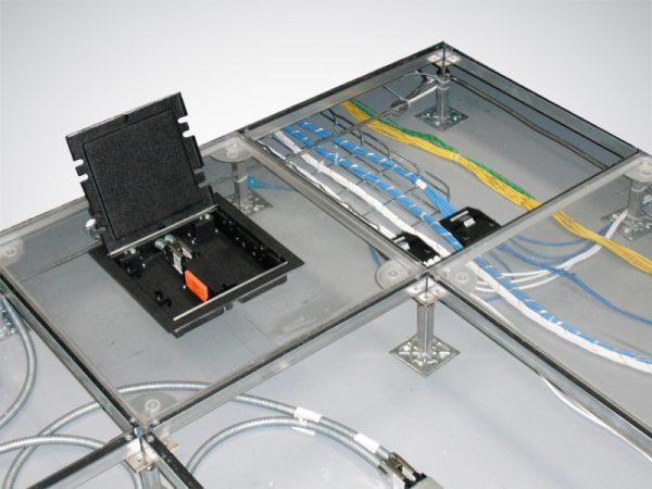 ASM Raised Floor Clear Easy View Data Center Floor Tile Panel