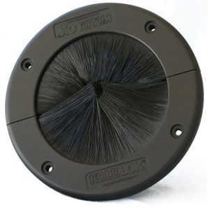 Koldlok 40003 round raised floor brush grommet