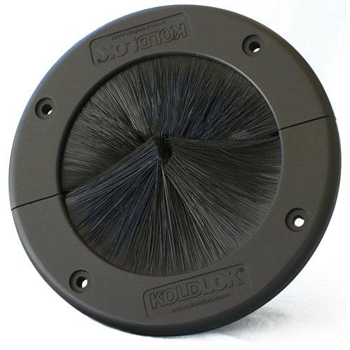 Koldlok 40003 round raised floor brush grommet