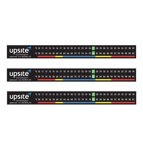 Upsite 10009 Adhesive temperature strip for data center rack
