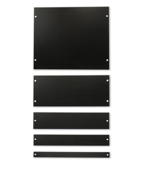 Blanking panel kit for data center server rack