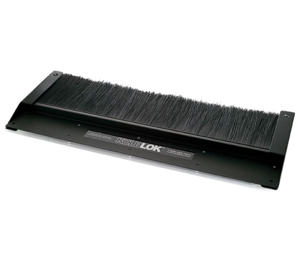 Koldlok raised floor grommet brush