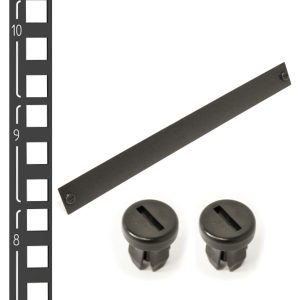"""19"""" Blanking Panels   Square Mounting Rails"""