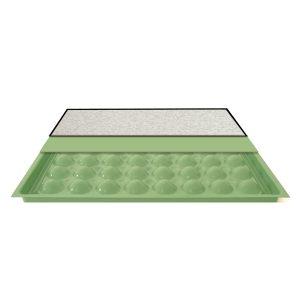 ASM hollow welded steel raised floor tile panel
