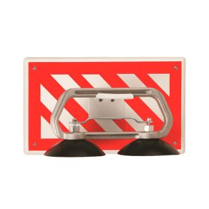 Striped Data Center Wall Mount Floor Lifter Holder