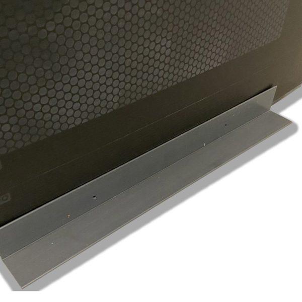 EziBlank Add On Angle Modular Wall Gray